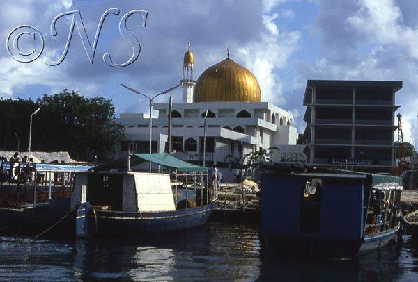 La nouvelle mosquée de Malé, Maldives 1986