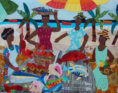 Marchandes de poissons Guadeloupe