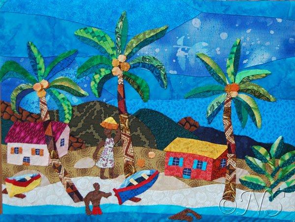 Village de pêcheurs Antilles