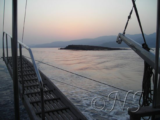 Passage de Ghoubbet Golfe de Tadjoura Djibouti