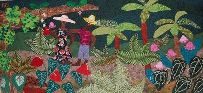 Forêt tropicale aux Antilles