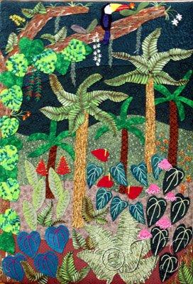 Forêt tropicale Antilles
