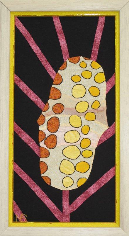 Monnaie caraïbe, patchwork tissus de coton