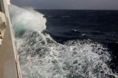 vagues navette Santa Antao